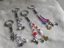 1 Llavero con minerales y los colores de tu equipo(key chain, Schlüsselanhänger)