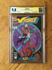 X-Force #2 Signed by Rob Liefeld & Nicieza 2nd Deadpool 1st Weapon X 9.8 MT CGC