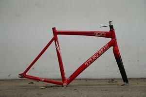 Trek t1 track frameset fixed gear single speed frame size M
