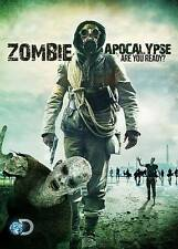 Zombie Apocalypse (DVD, 2014) Are You Ready?  BRAND NEW