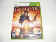 Fable III (Microsoft Xbox 360, 2010) not for resale edition Sealed