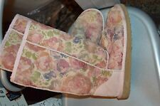 ugg romantic floral flower pink blush roses boots shoes 7