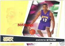 2005-06 TOPPS LUXURY BOX ROOKIE RC #143: ANDREW BYNUM - LA LAKERS