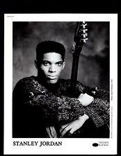 Vintage Original Stanley Jordan Jazz 1990 Ltd Edition Promo Photo 8x10