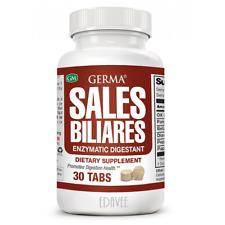 Sales Biliares 30 Digestive Enzymes Ox Bile Pancreatin Enzimas Digestivas Germa