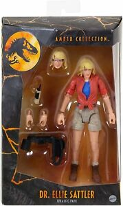 Jurassic World Amber Collection Dr Ellie Sattler Collectable Action Figure