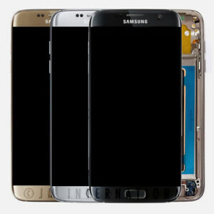 OEM Samsung Galaxy S7 Edge G935T G935A LCD Touch Screen Digitizer Frame Assembly