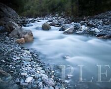 Photograph of Stream (8X10) New Landscape Art Photo Print River Picture Rocks