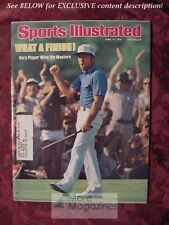 SPORTS Illustrated April 17 1978 GARY PLAYER MASTERS TRACY CAULKINS BILL WALTON
