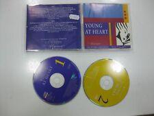 YOUNG AT HEART 2CD GERMANY BRONSKI BEAT, JAPAN, STRANGLERS, SOFT CELL... 1993