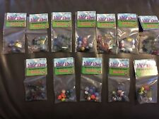 12 Packs Of Multicolor Glass Beads - New
