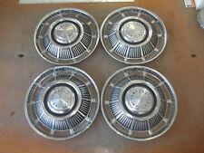 """Pontiac Tempest Hubcap Rim Wheel Cover Hub Cap 1962 62 1963 63 15"""" OEM AB2 USED"""