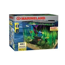 MarineLand Nook Aquarium Kit with Built-In LEDs and Hidden Filtration BRAND NEW!