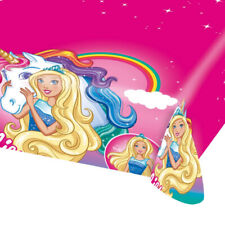 Girls Birthday Party Licensed Barbie Dreamtopia Tablecover