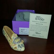 Just The Right Shoe Afternoon Tea Item 25016 Mib Mint In Box