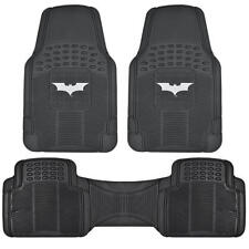 Dark Knight Batman Rubber Car Floor Mats Trimmable Fit All Weather Protection