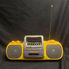 Rare Sony Sport CFS-905 Portable Cassette Boombox AM/FM Radio MEGA BASS