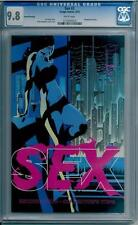 SEX #2 in NM/MINT condition CGC graded 9.8 Image comic by Joe Kasey