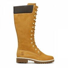 Timberland Womens Wheat Premium 14 Inch Leather Boots UK 9 EU 42 BT04 53