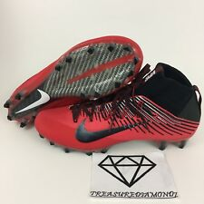 New Mens Red Black Nike Vapor Untouchable 2 Football Cleats 835646-602 Sz 1
