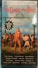 "FACTORY SEALED! ""Even Cowgirls Get The Blues"" PROMOTIONAL VHS Tape  Uma Thurman"