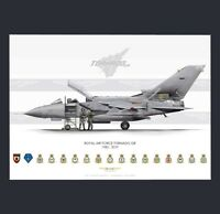 Royal Air Force Tornado GR.4 Print A3 - Farewell To The Mighty Fin