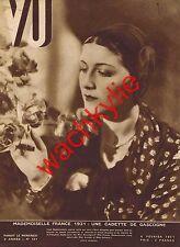 Vu n° 151 - 04/02/1931 Miss France Berthelot Almazian Bagne Bagnes Aniane Eysses