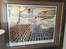 Salvador Dali Hand Signed Disintegration of the persistence of memory