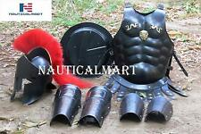 X-Mas Nauticalmart Medieval Roman King Leonidas 300 Spartan Helmet W/Red Plu