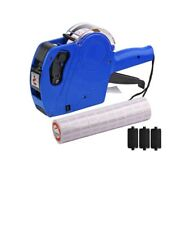 Mx-5500 8 Digits Price tag Gun with 5000 Sticker Labels and 3 Ink Refill, Label