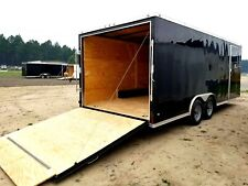 8.5'x16' Enclosed Trailer Cargo ATV Motorcycle Utility Box Trailers V Nose NEW