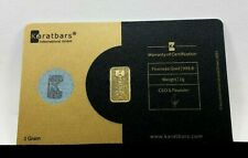 1 gram Nadir Karatbars 999.9 Fine Gold Bar Assay