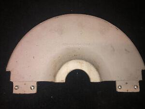 """VTG Delta Rockwell 31-710 6"""" Belt & 12"""" Disk Finishing Machine Sand Disk Guard"""