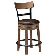 Signature Design By Ashley Pinnadel Swivel Barstool Counter Height