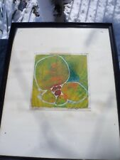 Vintage Diane Pugen Autographic Art Print 1964 Toronto Canada Abstract Signed