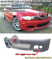 M-Tech II Style Front Bumper Fits 00-06 BMW E46 3-Series Coupe