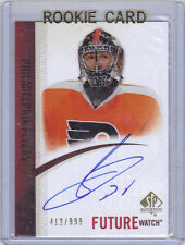 10-11 SP Authentic Sergei Bobrovsky Auto Future Watch Rookie RC Mint Rare /999