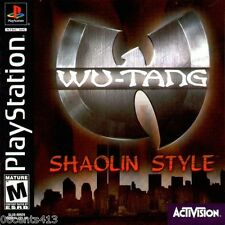 Wu-Tang: Shaolin Style (PlayStation PS1) 4 People Fight to the Death! *COMPLETE*
