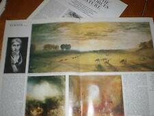 Article J M W Turner rehung at Tate Gallery 1967