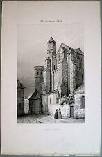 Litho de Petit d'ap Durand, Aigue-Perse, Auvergne