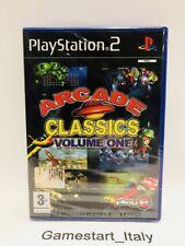 ARCADE CLASSICS VOLUME ONE - SONY PS2 - VIDEOGIOCO NUOVO SIGILLATO - NEW SEALED