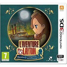 Nintendo 3ds L'aventure Layton Katrielle