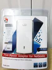 Trust 16224 75W Compacto Universal Adaptador De Alimentación Para Ordenador Portátil Netbook