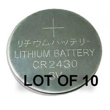 CR2430 Coin Cell. Lot of 10.