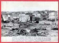 1944 Ruins of Changteh Hunan Province China Original News Wirephoto