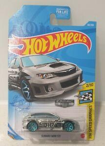 2021 Hot Wheels Subaru Impreza STI Zamac USA Exclusive