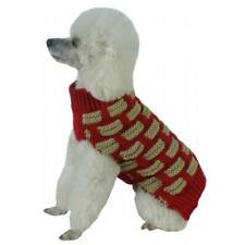 Pet Life SW10RDMD Fashion Weaved Heavy Knit Turtle Neck Dog Sweater Medium