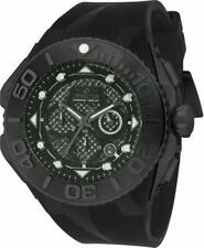 Invicta Coalition Forces 23963 Men's Chronograph Date Black Silicone Watch