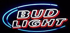 "New Budweiser Bud Light Beer Bar Neon Sign 19""x15"" Ship From USA"