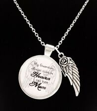 Memorial Necklace Mom Guardian Angel Mother In Heaven In Memory Sympathy Gift